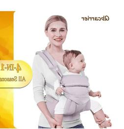 Baby Carrier-Front and Back for Newborn-4 in 1 Infant Carrie