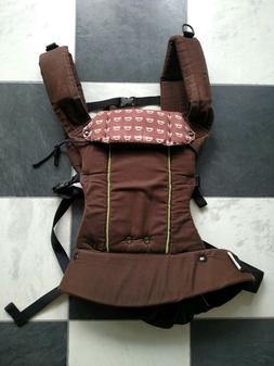 Beco Baby Carrier Soft Cars Brown 7-35 Lbs Organic Cotton US