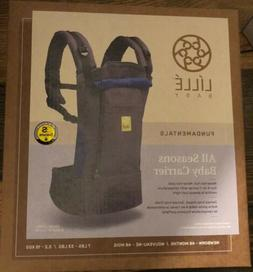 LILLE BABY Fundamentals All Seasons Baby Carrier Newborn - 4
