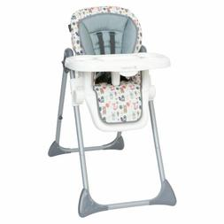 Baby High Chair 3-In-1 Elevated Mealtime Seat Foldable Sturd