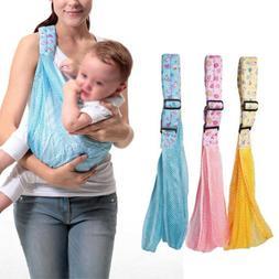 Baby Infant Newborn Adjustable Carrier Sling Wrap Rider Back