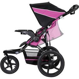 Baby trend xcel jogging stroller, raspberry with Diaper Bag