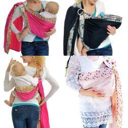 Baby Wrap Sling Carrier for Babies, Infants and Toddler Adju