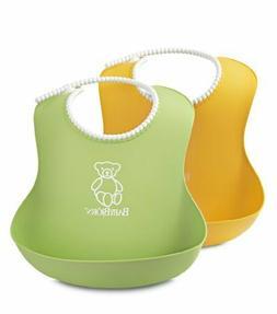 BabyBjörn Soft Bib - Green/Yellow