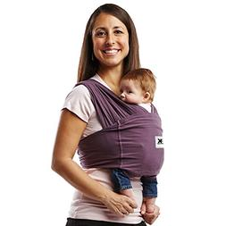 Cotton Baby Carrier - Size: Small, Color: Eggplant