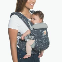 Ergo Baby OMNI 4 Position 360 Gray Child Carrier Bag V Clean
