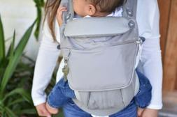 Ergo baby pouch for 360 omni baby carrier Pearl Grey White p