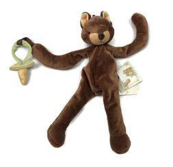 Bunnies by the Bay Foxy the Fox Silly Buddy Pacifier Holder