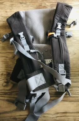Beco Gemini Baby Carrier with Pocket Grey/Black Front/Side/B
