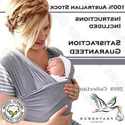 Organic FeatherCo Australian Baby Wrap Carrier   100% Guaran