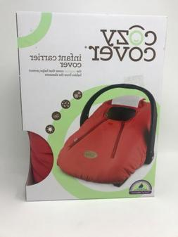 COZY COVER infant/baby Carrier/carseat Cover Cayenne   New I