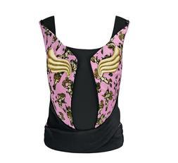 Cybex Jeremy Scott Yema Tie Baby Carrier -Pink Cherub Design
