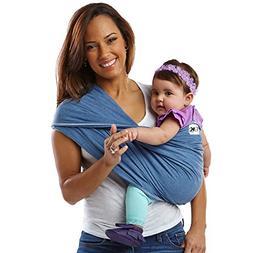 Baby K'tan Original Baby Carrier, Denim – Women 6-8   /