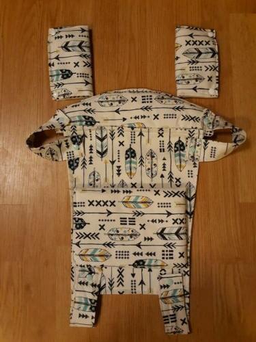 Drool-Teething pad-Bib-Sun hood-Pouch Baby Carrier in