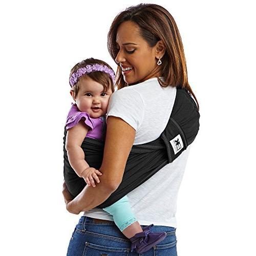 Baby K'tan Carrier, Black– Women / Men jacket - Newborn Sling– Child