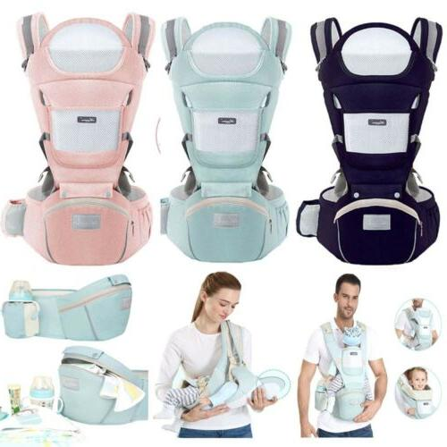Ergonomic Baby Carrier Infant Baby Hipseat Carrier Front Fac