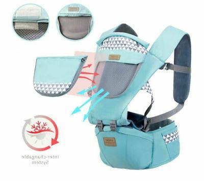 Baby Carrier Breathable Ergonomic Adjustable Wrap Sling Kangaroo