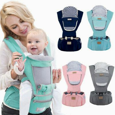 baby infant carrier breathable ergonomic adjustable wrap
