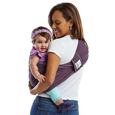 Baby K'tan Cotton Wrap Eggplant, Medium