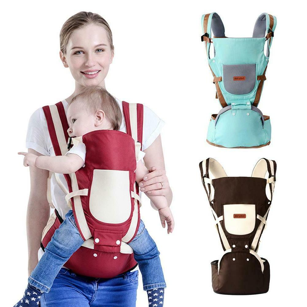 Newborn Infant Baby Carrier Breathable Ergonomic Backpack Adjustable Strap New