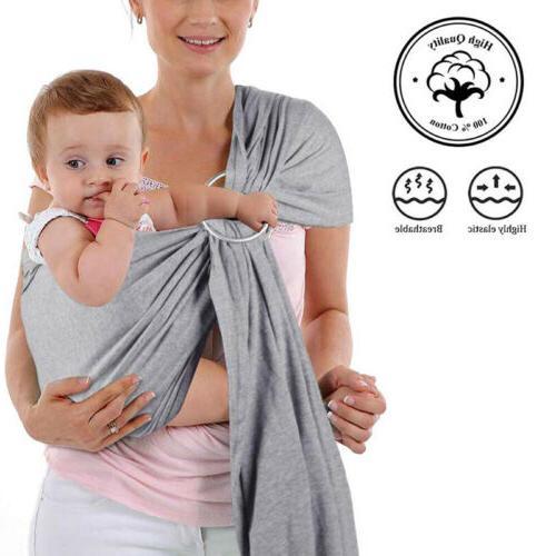 Baby Ring Sling Infant Toddler Newborn Nursing Pouch
