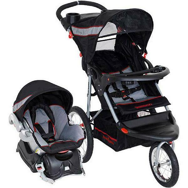 Baby Trend Expedition Jogger Travel System Stroller & Car Se