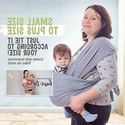 Baby Wrap Carrier- Baby Baby