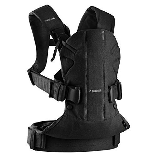 BABYBJORN New Carrier One 2019 Edition, Cotton, Black