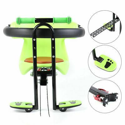 Bicycle Kid Child Baby Seat Mount +Handrail&Pedal