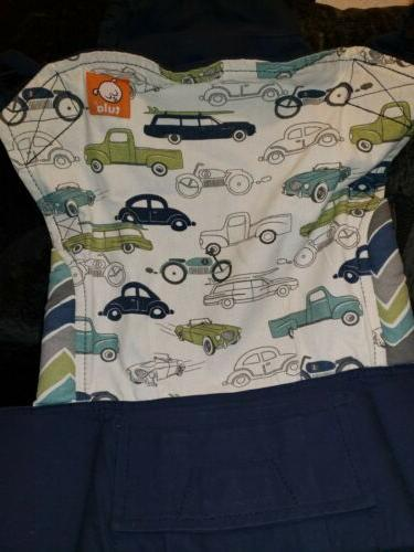 Tula Cars Print Size Carrier