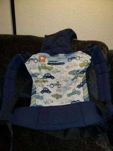 cars print plus size baby carrier