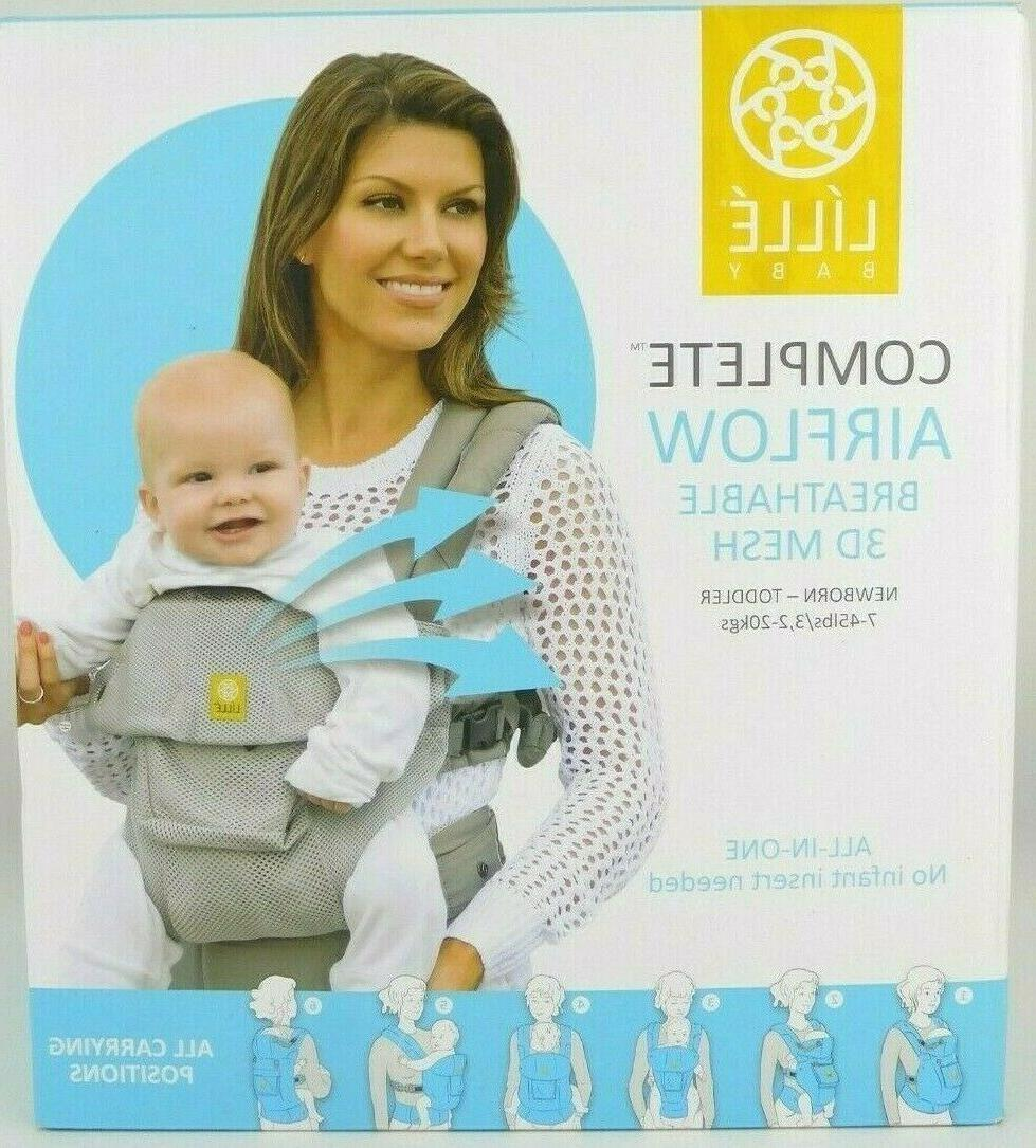 complete airflow breathable 3d mesh newborn toddler