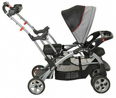 Double Baby Stroller City Tandem Seat Carrier