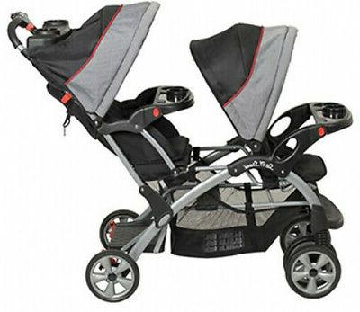 Double City Tandem Car Seat Carrier Carriage