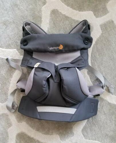 ergo baby four position 360 carrier cool