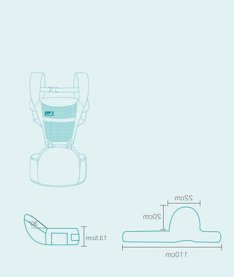 Ergonomic Baby with Hip Front and Back Quality Products