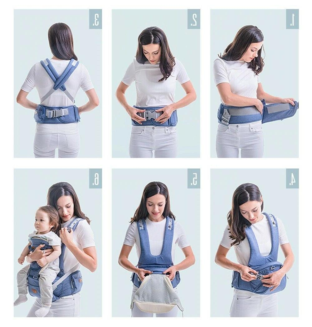 SUNVENO Infant Baby Carrier Facing