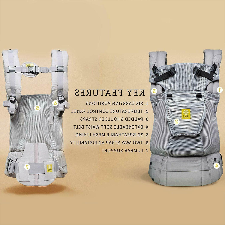 lillebaby Complete Airflow 6-in-1 Baby Carrier, Mist