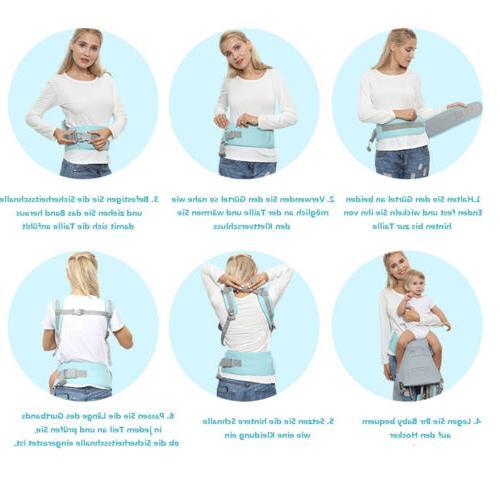 Newborn Infant Carrier Breathable Ergonomic Adjustable