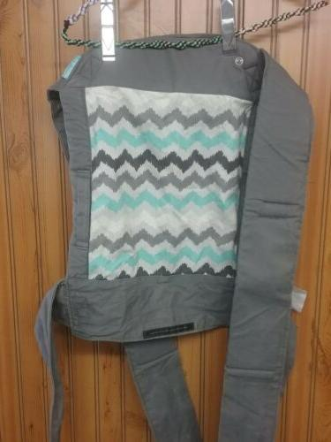Infantino Wrap and Tie, Baby and grey
