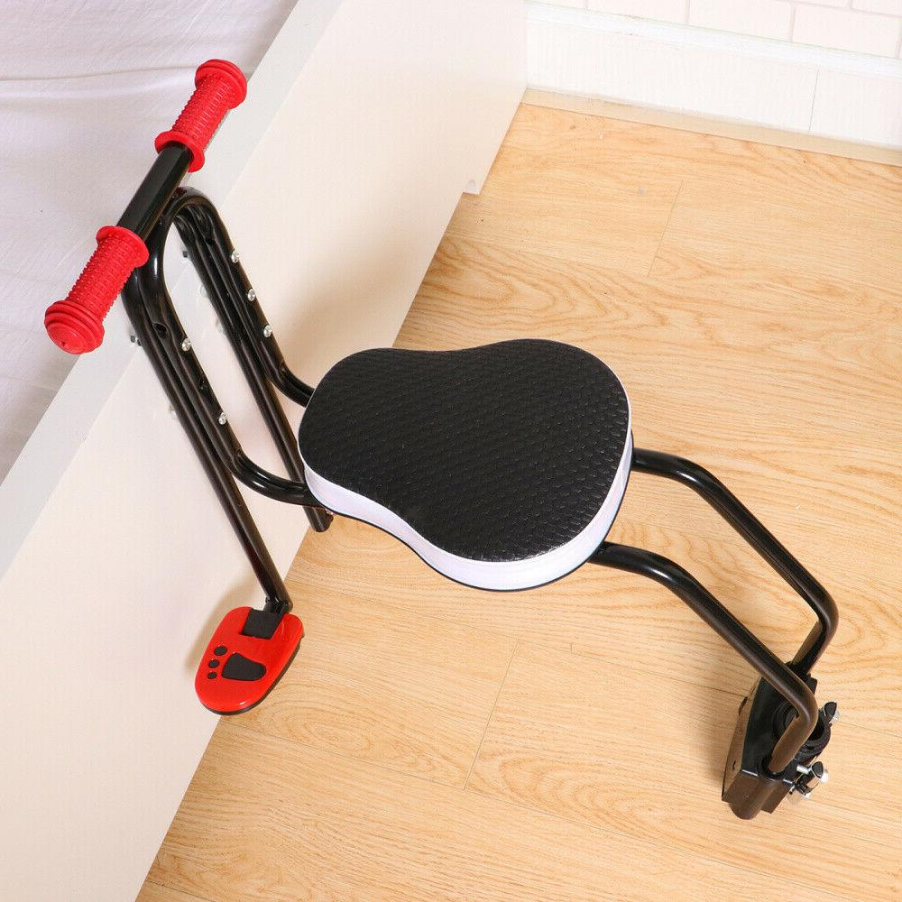 US Bicycle Children Baby Kid Seat Front Safety Carrier Handrail