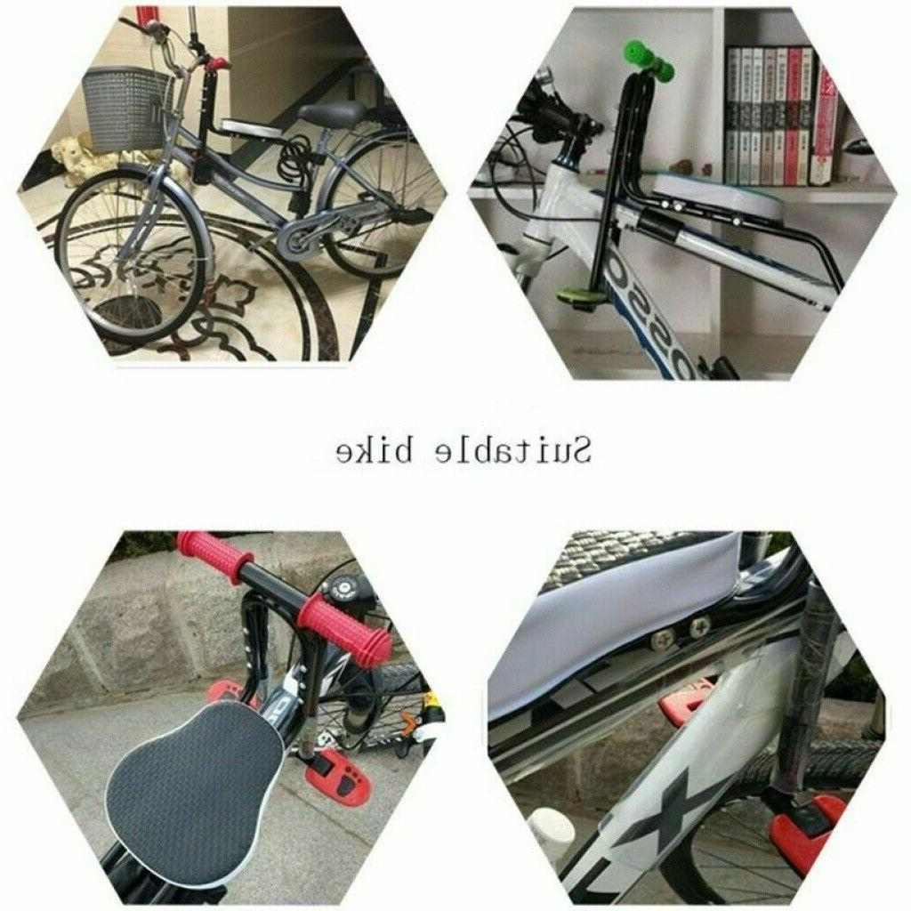 US Bicycle Children Baby Kid Seat Front Mount Safety Handrail