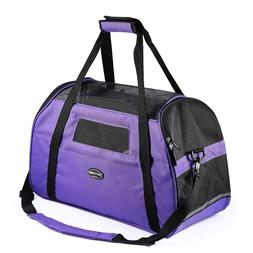 Jespet Luxury Soft Sided Dog Carrier for Dogs, Cats, Puppy A
