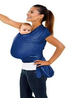N.C Products Soft Baby Wrap Carrier for 0-18 months Royal Bl