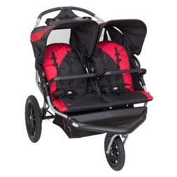 Baby Trend Navigator Lite Double Jogger Stroller Candy Apple