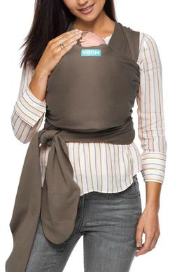 New Authentic Moby Wrap Baby Carrier Infant Sling Chocolate