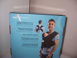 New baby ktan  size medium carrier new  grey and white strip