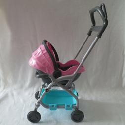 NEW Barbie Skipper Babysitter Doll Baby Carrier Car Seat Str