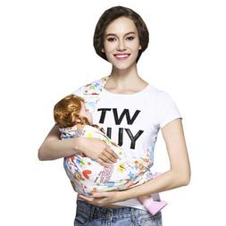 Newborn Baby Sling Carrier Ring Wrap Breathable Soft Nursing