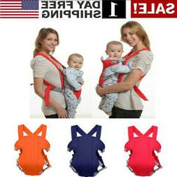 Newborn Baby Carrier Sling Rider Backpack Wrap Straps Infant